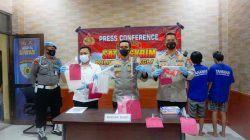 Polisi Tangkap Dua Terduga Pelaku Peracik Miras Oplosan Yang Tewaskan 3 Warga di Pandeglang