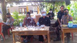 Tinjau Pelaksanaan Vaksinasi Covid-19 di Kampung Seupang, Kapolsek Sajira: Warga Sangat Antusias Ikuti Vaksin