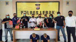 Kawanan Pembobol Minimarket Lintas Provinsi Berhasil Ditangkap Satreskrim Polres Lebak
