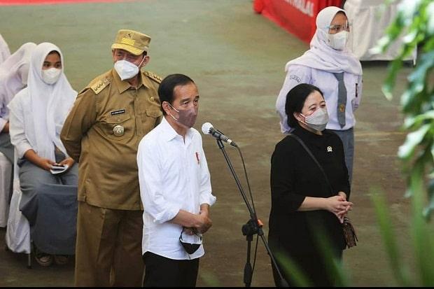 Gubernur WH Laporkan Capaian Provinsi Banten kepada Presiden Jokowi