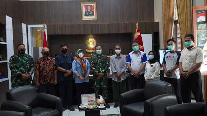 Danrem 064/MY Banten Gelar Audiensi Bersama Pengurus Organisasi Pers