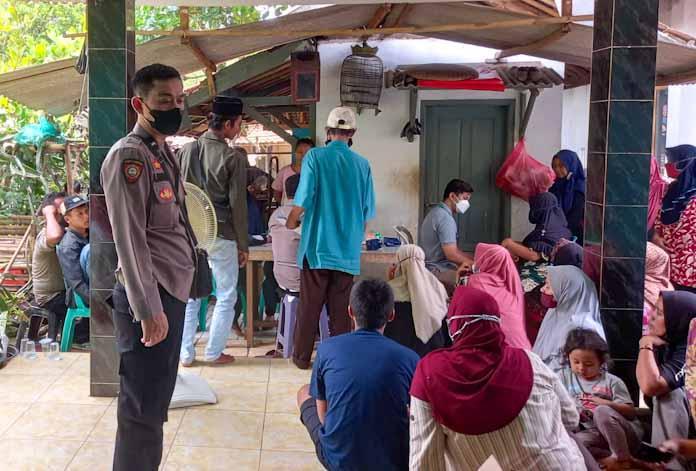 Polsek Rangkasbitung Adakan Vaksinasi Covid-19 Di Desa Citeras Disambut Antusias Warga, 452 Orang Divaksin