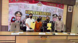 Kabid Humas Polda Banten AKBP Shinto Silitonga saat menggelar konferensi pers di Polres Serang, Kamis (21/10/2021).