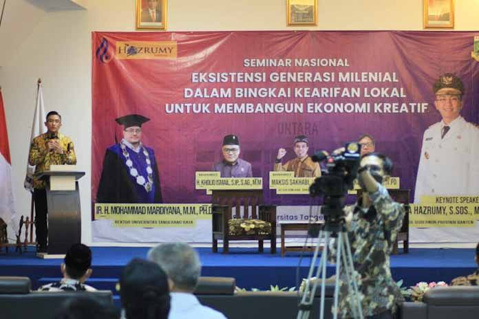 Wagub Banten Ajak Sinergi Pentahelix Tumbuhkan Minat Milenial Garap Ekonomi Kreatif