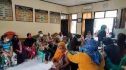 Bersama Tim Nakes Puskesmas Pajagan, Koramil 0304 Sajira Laksanakan Serbuan Vaksin di Desa Paja