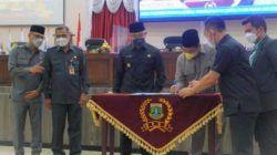 Dihadiri Wagub Andika, Rapat Paripurna DPRD Setujui Hibah Gedung dan Lahan PMI Banten