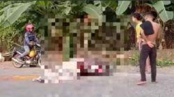 Pemotor Wanita Tewas Ditempat, Diduga Jadi Korban Tabrak Lari di Jalan Suralaya-Merak