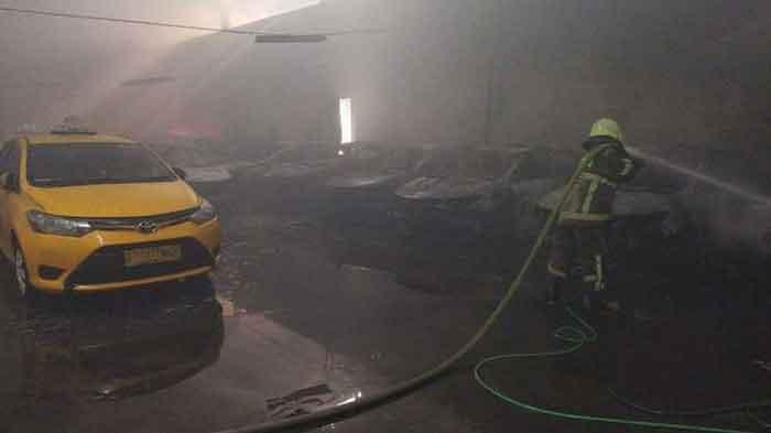 Total 31 Unit Taksi Ludes Dilalap Api, Kerugian Tembus Rp 2,7 Miliar